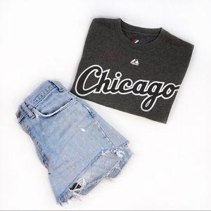 Chicago Crop Top - Men's T Shirt